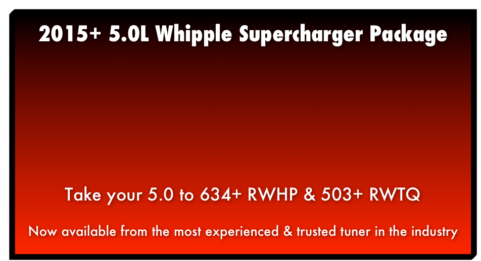 2015+ 5.0L Whipple Supercharger Package