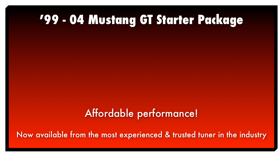 '99 - 04 Mustang GT Package