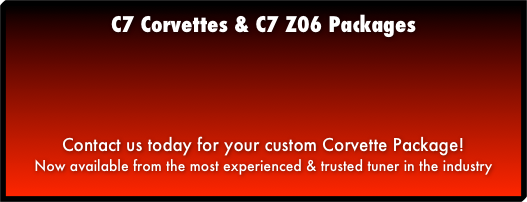 C7 Corvettes & C7 Z06 Packages