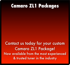 Camaro ZL1 Packages